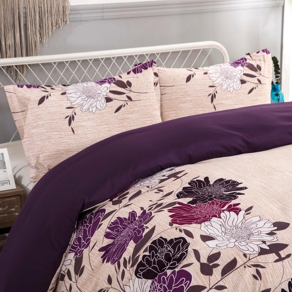 Image 3 - LOVINSUNSHINE King Size Bedding Set Duver Cover Queen Size Flower Comforter Bedding Sets AW01#-in Bedding Sets from Home & Garden