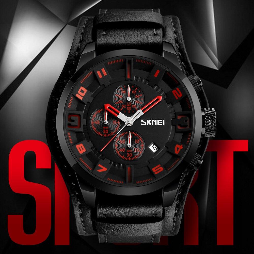 Man Watch  SKMEI Brand Luxury Men Sports Watches Fashion Business Male Wristwatch Waterproof Quartz Watch Relogio Masculino 9165