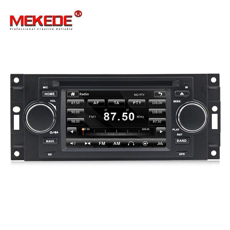 5 pouce Lecteur DVD de Voiture Pour Chrysler/300C/Dodge/RAM/Jeep/Commandant/Boussole/ wrangler/Grand Cherokee CANBUS GPS BT Radio Cartes Gratuites