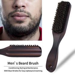 Новый Для мужчин; щетка для бритья лучшие конского волоса бритья деревянная ручка бритвы Парикмахерская инструмент начального уровня для