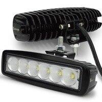 12 Volt 18 Wát LED work light bar đèn 12 V led máy kéo làm việc ánh sáng LED worklights off road 4X4 24 V led offroad nhẹ bar spot nhẹ lũ lụt