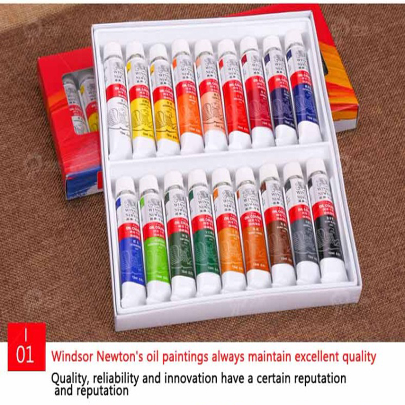 Oil Painting Pigment Set 12 Colors 18 Colors Pigment Boxed 12 Ml Beginner Suit Student Artistic Supplies
