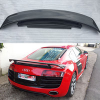 Car Styling R8 Carbon Fiber Rear Trunk Boot Spoiler Wing for Audi R8 GT V8 V10 2008~2015