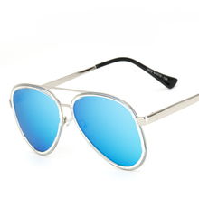 Aviator Sunglasses Polarized Men Women Coating Driving Brand Designer Fashion Blue Colored Mirror Womans Driver Sun Glasses