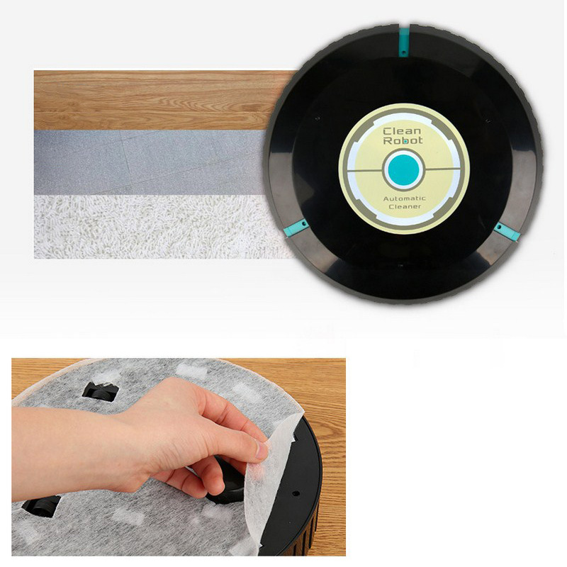 Home Auto Cleaner Robot Microfiber Smart Robotic Mop Floor Dust Sweeper Vacuum Cleaner Automatically  Household Cleaning Tool (5)