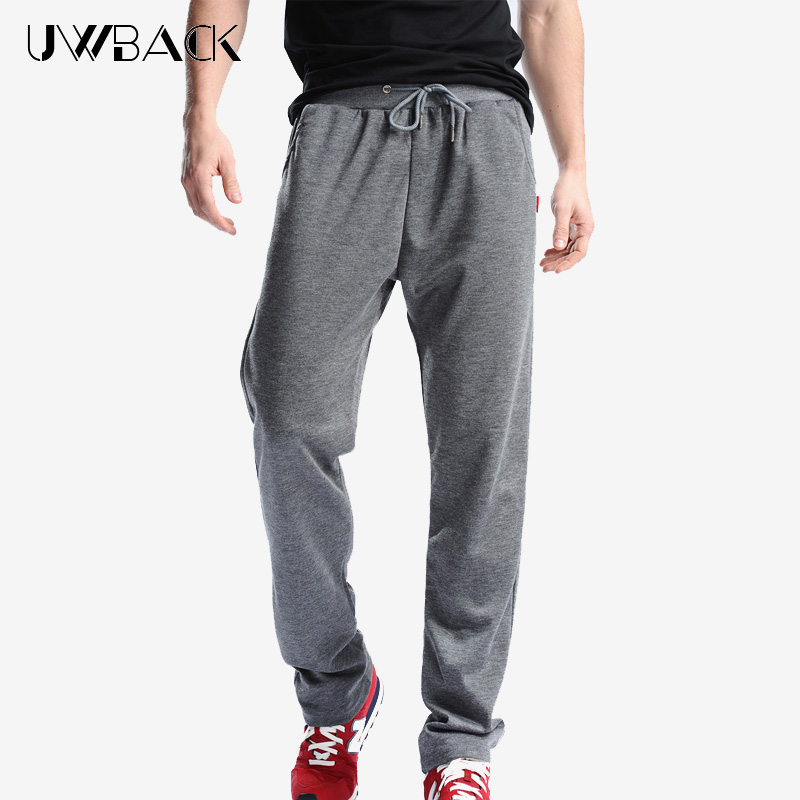 Uwback Sweat Pants Men Summer Joggers Pants Elastic Waist Loose Sweat Pants For Men Plus Size 4XL Casual Trousers Hiphop CAA329
