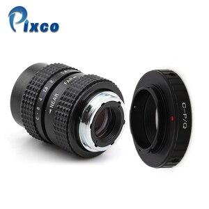 Image 1 - Pixco 25mm F1.4 P/P CCTV soczewka do tv + C mocowanie dla Pentax Q dla Pentax Q S1 Q10 Q7 mft obiektyw