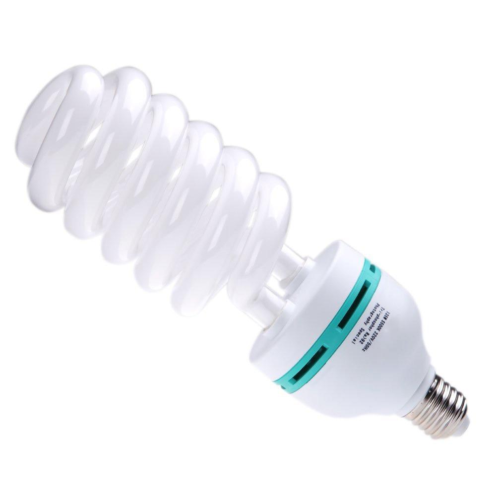 EDT-E27 220V 135W 5500K Daylight Bulb Photo Studio Light / Video  Photography Lamp