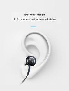 Image 3 - Samsung AKG écouteurs IG955 vente en gros 5 10 20 50 pièces 3.5mm dans loreille avec micro fil casque pour Galaxy samsung S10 s9 S8 S7 S6 S5