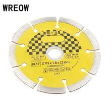 Disco de corte de azulejos de cerámica, hoja de sierra Circular de 115mm, ruedas de molienda de diamante, hoja de corte, sierra de rueda, ladrillo de mármol, piedra de hormigón