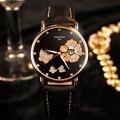 2017 Reloj de Pulsera de Las Señoras de la Marca Famosa de Pulsera Mujer Reloj de Cuarzo Reloj de La Muchacha reloj de Cuarzo Relogio Feminino Montre Femme