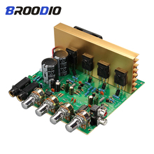 Audio Amplifier Board 2.1 Channel 100W High Power Amplifier Board DIY Amplifiers Hifi Stereo Amp AC18-26V For Speakers Sound цены