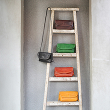 Cowhide Simple Bag YIFANGZHE