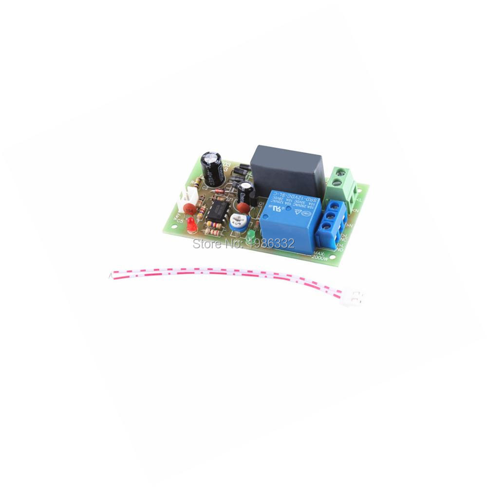 Ws16 Ac 220v 230v 240v Trigger Delay Time Timing Relay Ne555 Module Delay Timer Turn Off 0
