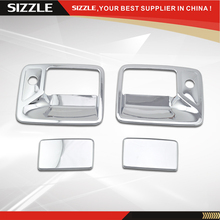 1997-2006 For Ford Excursion Chrome Door Handle Cover 2D With PSKH ABS Accessories For South American Edition Only