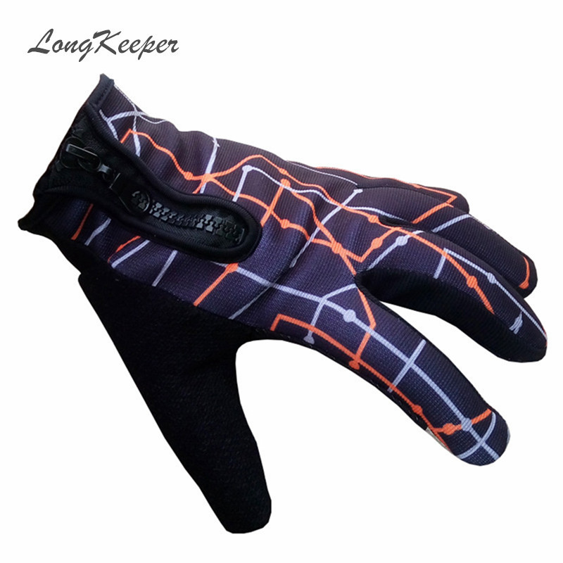 Fashion Mens Zipper Gloves Gym Sport Touch Screen Full Finger Glove for Men Women Fall Winter Sports Fitness Work Out Luvas S141