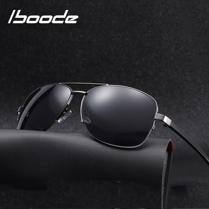 Iboode Bifocal Reading Sunglasses Men Women 2019 New Metal Half Frame Presbyopic Sun Glasses With Diopters +1.0 To +3.5 Goggles