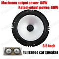 Manufacturer 6.5 inch car audio frequency horn Subwoofer speakers Full range loud speakers 2X80W high quality