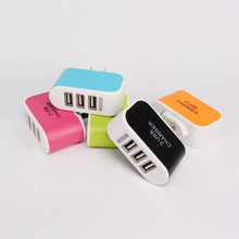Usb Charger Candy Apple Android General Glow 3 Usb Charger Universal 3 Usb Charging Head