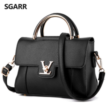 Hot fashion design hasp locks with V letter handbag flap bag 10 colors elegant lady women's handbag shoulder bag messenger bag
