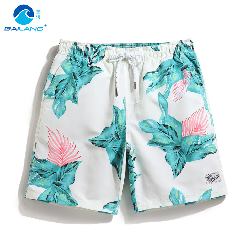 Couple's   board     shorts   bathing suit quick dry surfing hawaiian bermudas swimsuit joggers beach   shorts   liner swimwear briefs