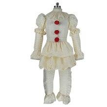 2017 Stephen Kings It Pennywise Cosplay Costume Adult Men Women Clown costume