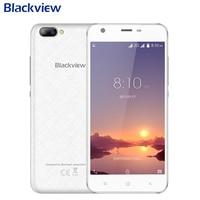 Orignal Blackview A7 Mobiele Telefoon 5.0 inch Scherm 1 GB RAM 8 GB ROM MTK6580A Quad Core Android 7.0 Dual Camera 2500 mAh Smartphone