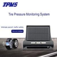 High Quality TPMS Car Wireless Tire Pressure Monitoring System 4 Mini Sensors Cigarette Tyre Pressure Monitoring