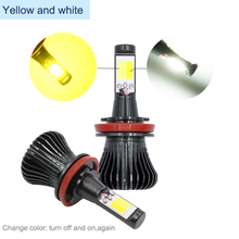 DRL Lamp HPSx24W Single or Dual Color (White, Yellow, Blue, Ice Blue) sockets H3 H7 H11 H8 9005 9006 HB3 HB4 H27 880 881 H16