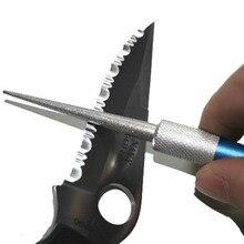 Afilador profesional Cuchillo de Diamante Tipo Pen Afilador de Cuchillos Muela Gancho De Pesca