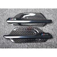 Углерода Волокно Fender планки для BMW m2 F87 углерода укладки вентиляционные отверстия экстерьер углерода Запчасти