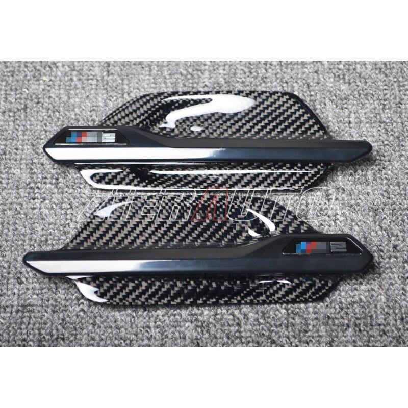 Garnitures de garde-boue en Fiber de carbone pour BMW M2 F87