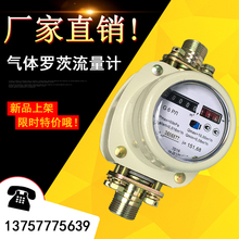 natural gas flow meter. gas roots flow meter, natural sensor, waist wheel meter g