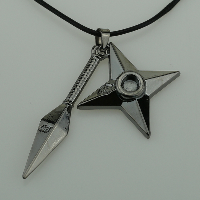 Naruto Ninja Weapon Necklace