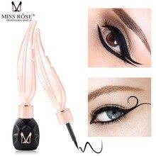 MISS ROSE Eyeliner Feather Pen Liquid Waterproof Long Lasting Women Makeup Tool Professional Cosmetics makeup