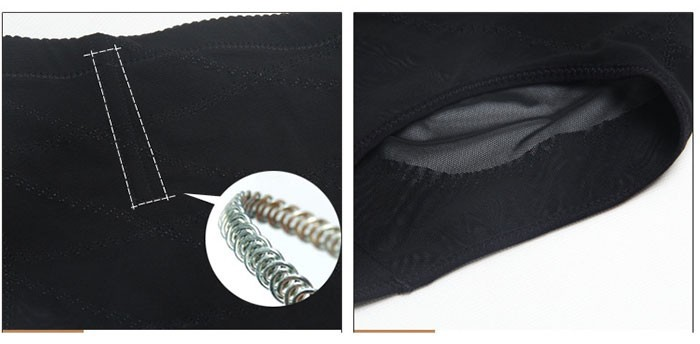 Kõrge pihaosaga salendavad aluspüksid