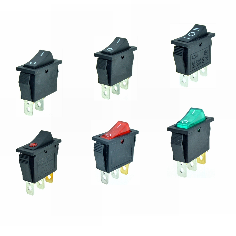 rocker-switches-2-pin-3-pin-on-off-on-off-on-spst-spdt-black-red-green-dot-light-boat-switch-2-position-28x10mm-mount-15a-250v