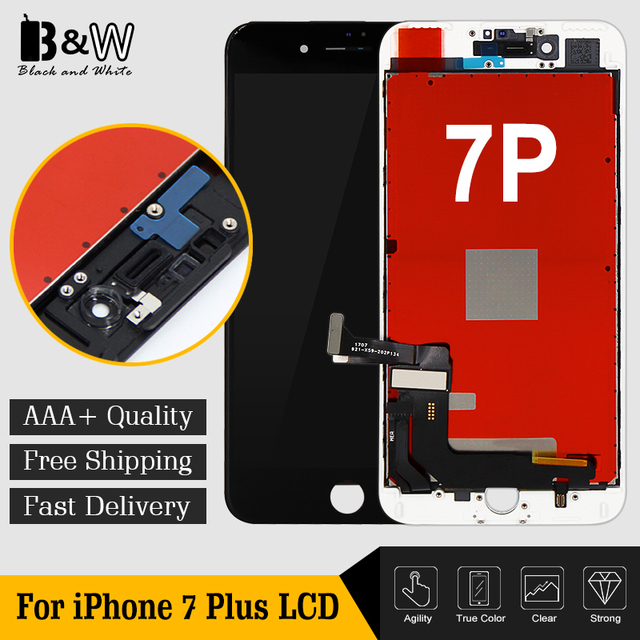 the latest e7005 a56ea US $310.0 |20PCS/LOT Grade AAA+++ For iPhone 7 Plus LCD With 3D Force Touch  Screen Assembly Replacement Display+Camera Ring &Sensor Holder-in Mobile ...