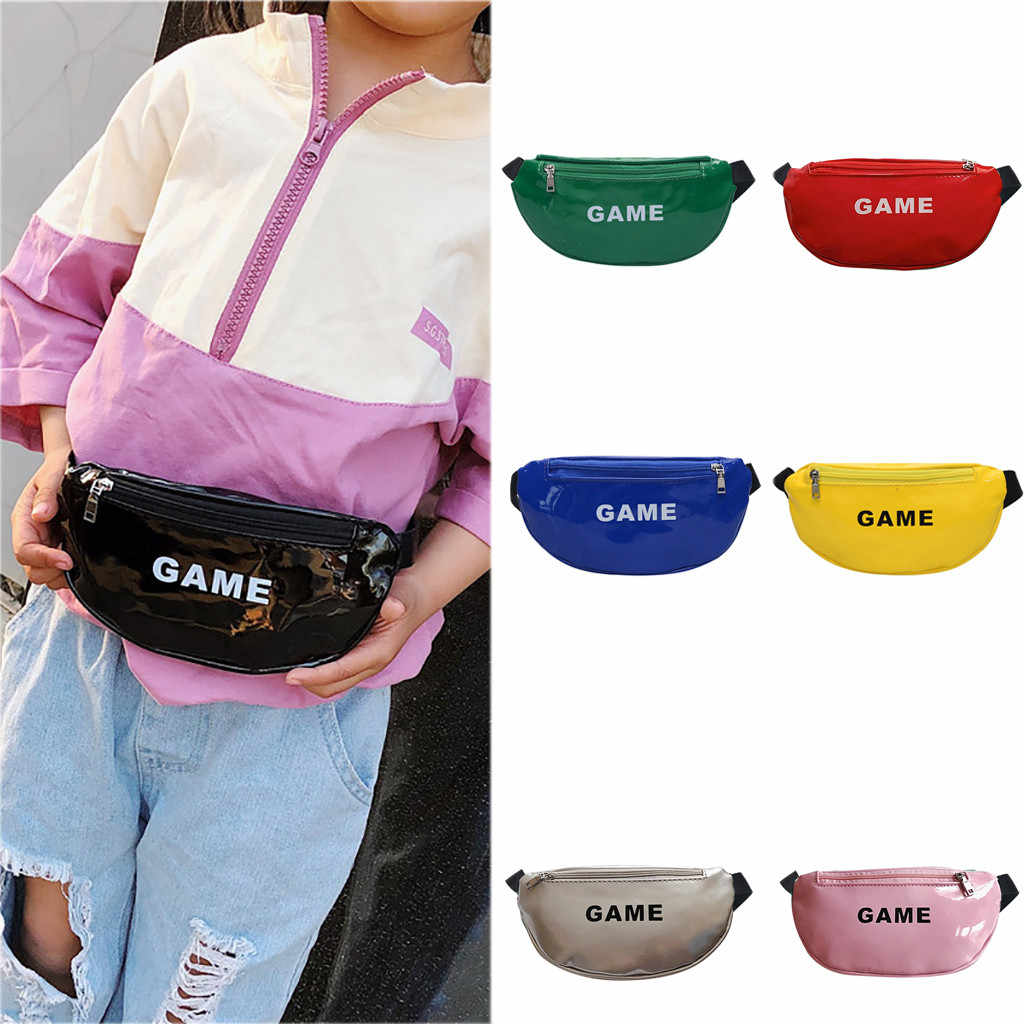 2019 Women Girls Casual Cute Child Joker Crossbody Fashion Chest Pocket Pocket Shoulder Oval HobosSolid Bag 50