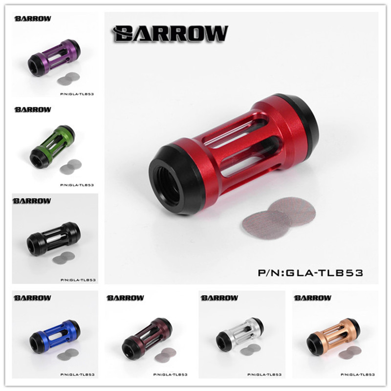 Barrow 2017 Dual Inner Teeth Filter (Composite version) PC Water Cooling System-Specific  G1/4  GLA-TLB53 8 Colors barrow g1 4 female to female extender 15mm pc water cooling system water cooling fitting tbzt a15