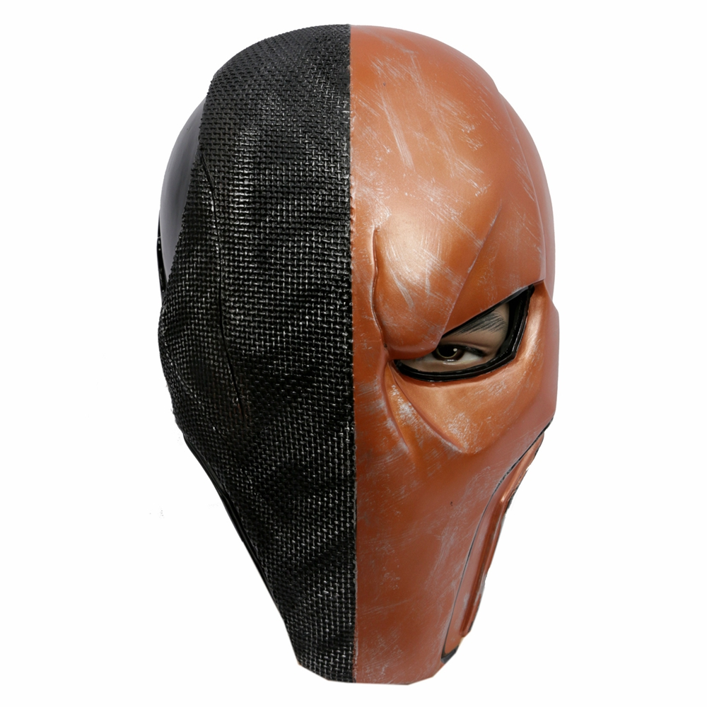 Coslive Batman Mask Deathstroke Cosplay Full Face PVC Halloween Mask Costume Accessories 4