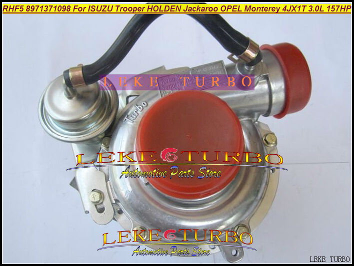 Free Ship RHF5 8971371098 hole distance=80mm Turbo Turbocharger For ISUZU Trooper 00- Jackaroo 99-04 For OPEL Monterey 98- 3.0L free ship turbo rhf5 8973737771 897373 7771 turbo turbine turbocharger for isuzu d max d max h warner 4ja1t 4ja1 t 4ja1 t engine