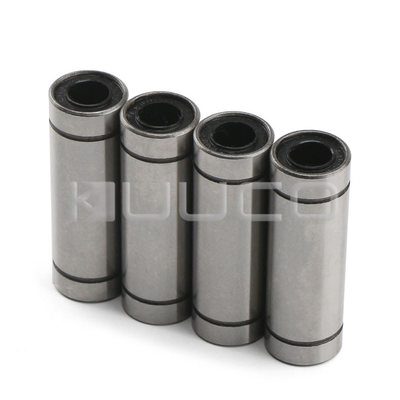 4 PCS LM6LUU 6mm Linear Motion Ball Bearing 6mm x 12mm x 35mm Slide Bushing for 6mm Linear Shaft/Linear Guide/Sliding Table etc 2pcs lm10luu long type 10mm linear motion ball bearing slide bushing for diy cnc parts for 10mm linear shaft