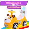 Quatro-rodas Scooter para Crianças Shilly Carro Andador Carrinho De Brinquedo com Música Multifuncional Menino Menina Crianças Ride on carro