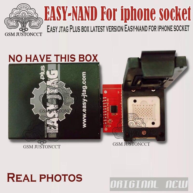 Facile jtag Plus boîte dernière version facile-nand pour prise iphone