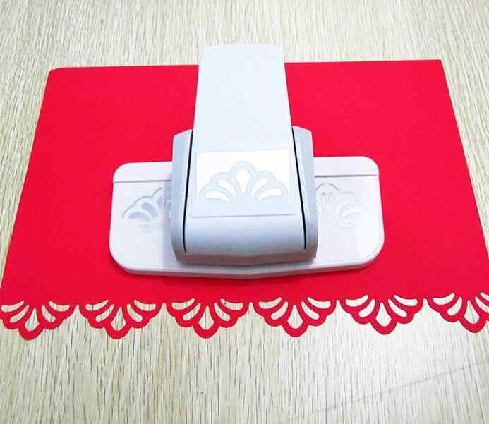 1PC Grote fancy border punch foam papier embossing punch plakboek Edge craft punch plakboek ponsen voor papier gesneden
