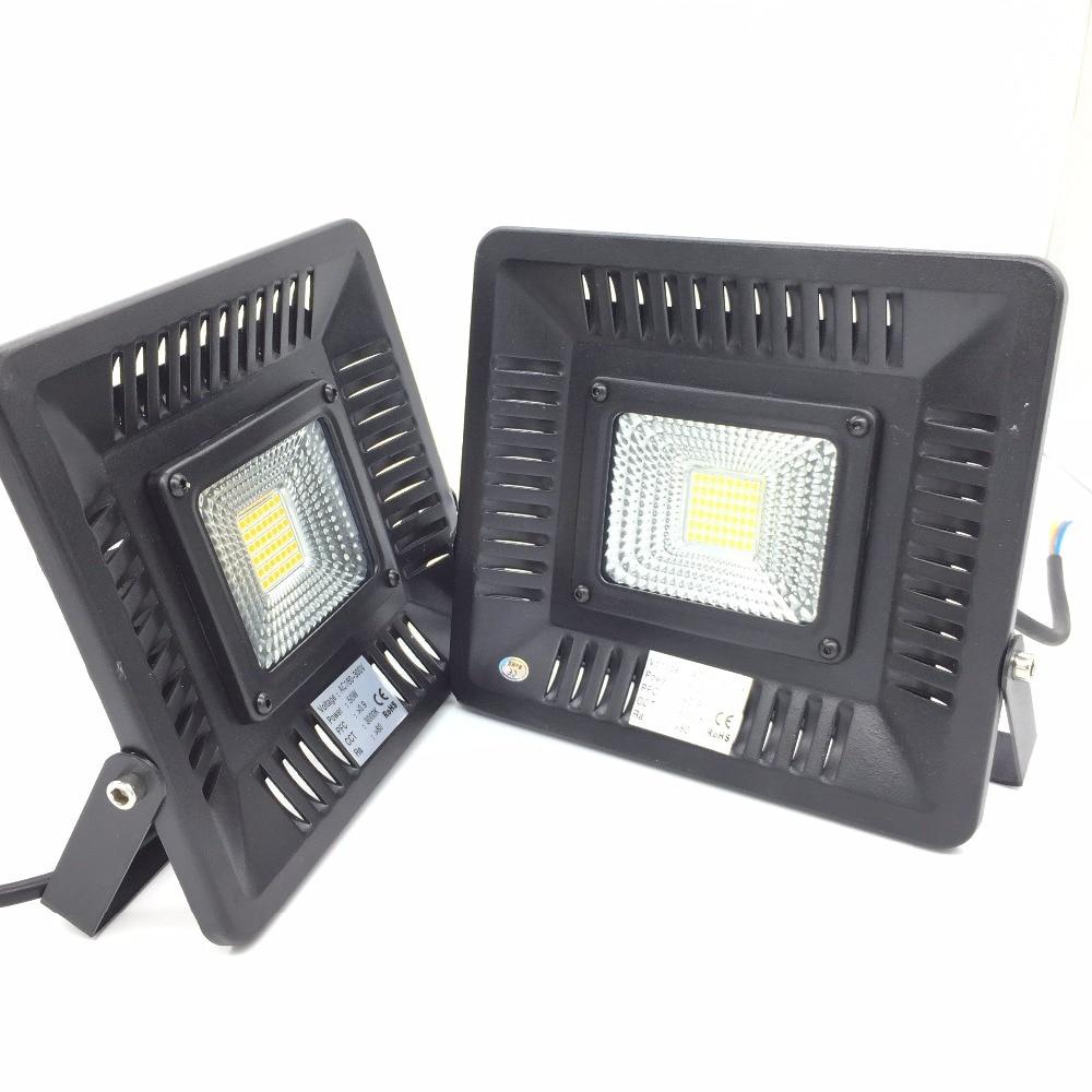 אולטרה דק מבול אור 30 w 50 w LED זרקורים שחור גוף AC220V 230 v 240 v חיצוני חיפוש מנורה LED רפלקטור מקרן אור