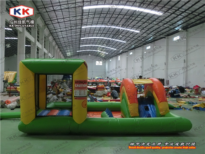 Hot Sale Mini Residential Inflatable Bounce Ball Pool For Kids