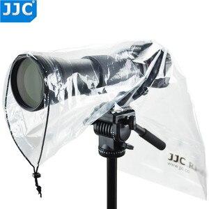 Image 4 - JJC 2PCS Wasserdichte Regenmantel Regen Abdeckung Fall Tasche Protector für Canon EF 24 70mm 1: 2,8 L USM Nikon SIGMA TAMRON DSLR Kameras