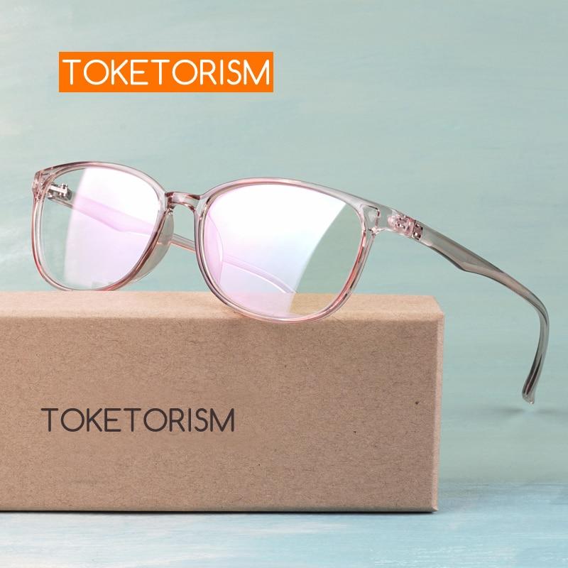 Toketorism New Fashion Eyewear Frames Women Men's Grade Glasses Vintage Eyeglasses 9142